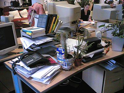 3 Reasons You Should Clean-Up Your Work Space Right Now