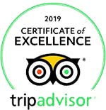 Certificate of Excellence - Trip Advisor 2019