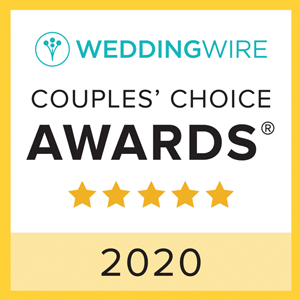 Weddingwire Couples Choice Award 2020